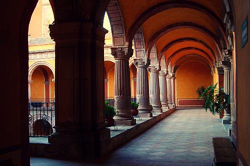 A museum in Querétaro