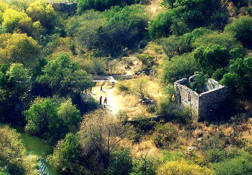 Crumbling fort