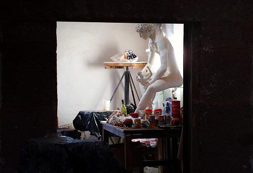 Bellas Artes sculpting workshop