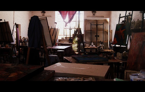 Painting room at Bellas Artes