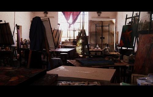 Painting room at Bellas Artes